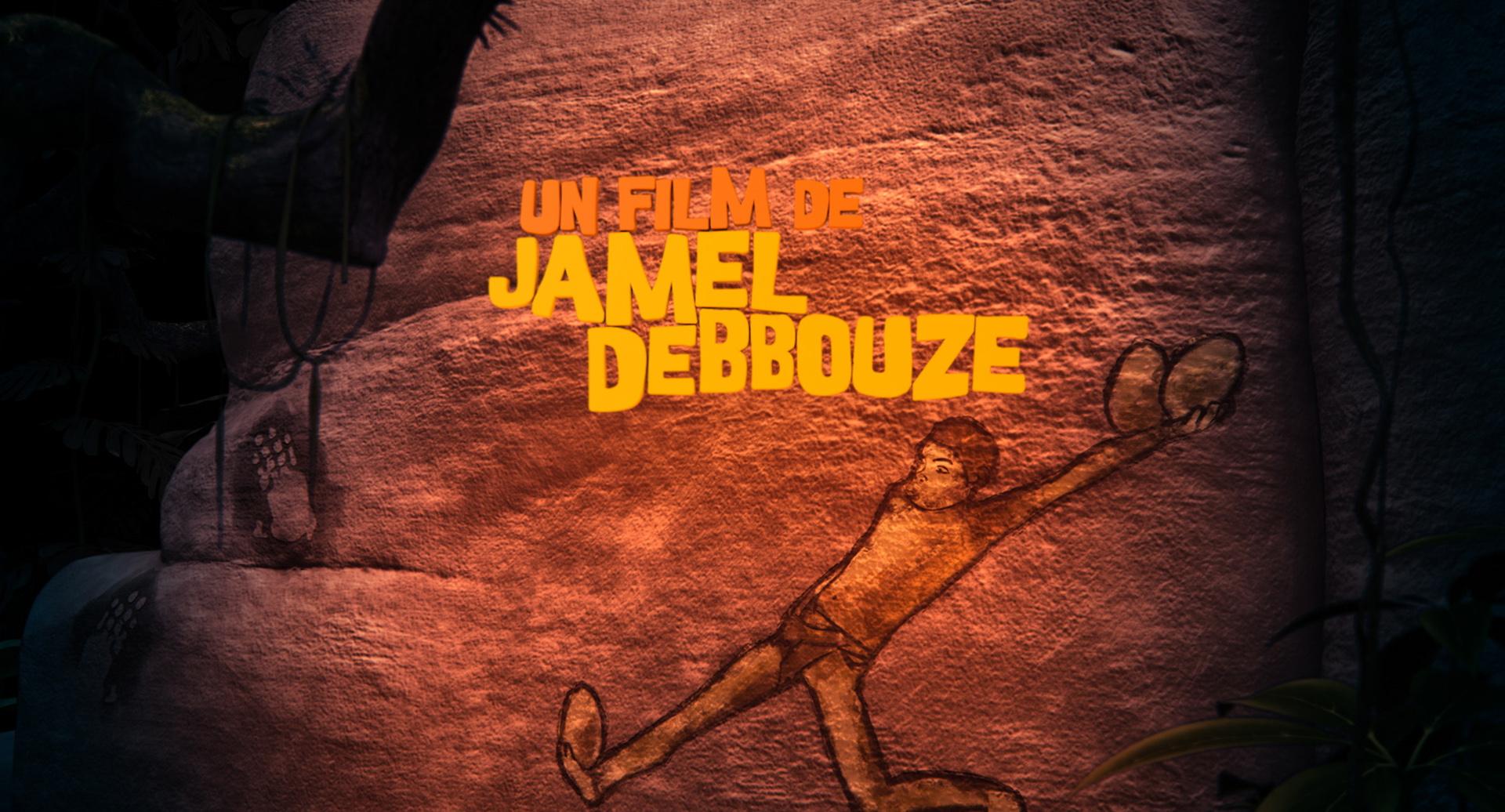 Générique de fin du film « Pourquoi j'ai pas mangé mon père? » réalisé par Jamel Debbouze. Puisque le film traite de la découverte du feu, la chasse, l'habitat moderne, l'amour et même l'espoir, j'ai créé toutes les illustrations des personnages en m'inspirant des dessins préhistoriques afin que l'on reste dans l'ambiance du film.